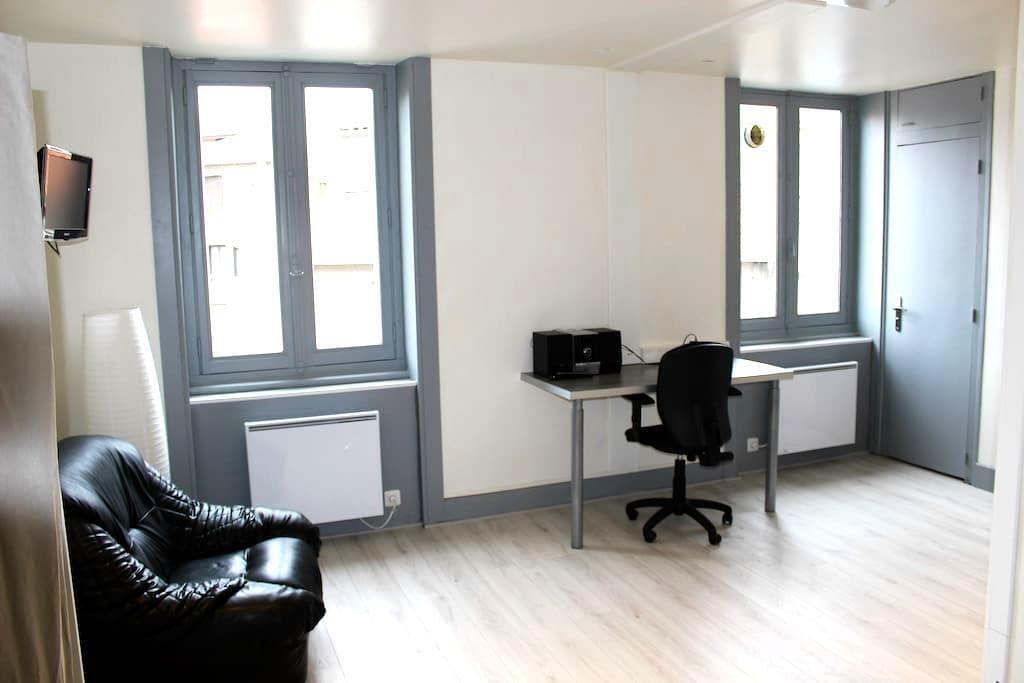 Studio meublé entièrement rénové - Saint-Étienne - Apartment