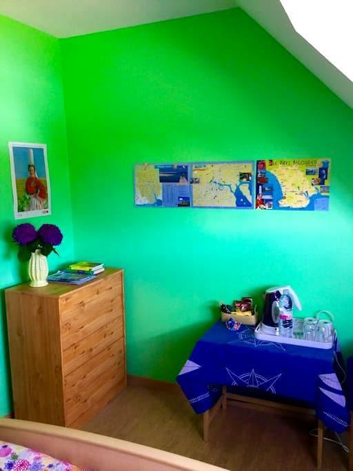 Chambre à Lesconil tout confort - Plobannalec-Lesconil - House