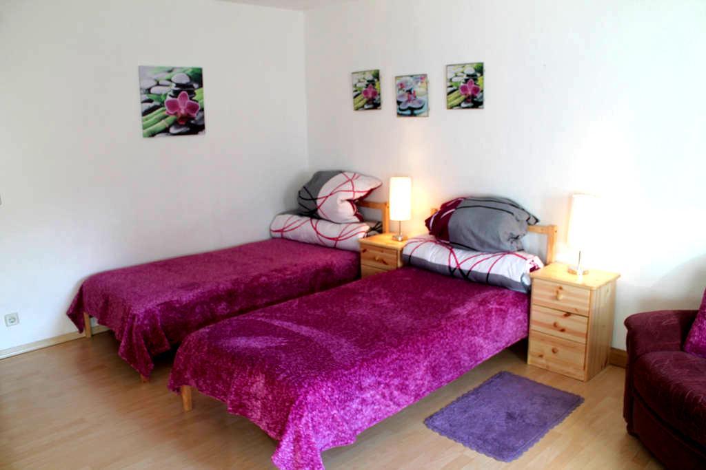 """Hübsche Ferienwohnung """"Reinhard"""" - Aue - Apartment"""