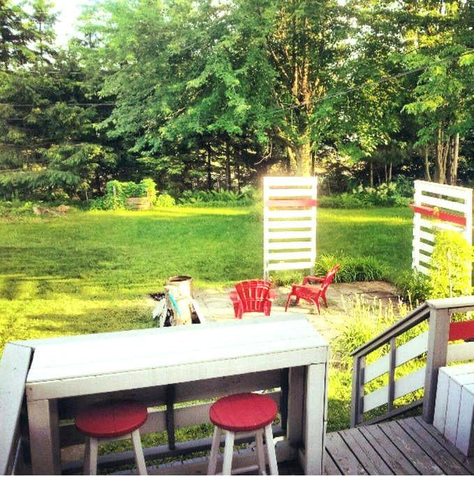 Maison climatisée pour vos vacances, grande cour! - Trois-Rivières - Dům
