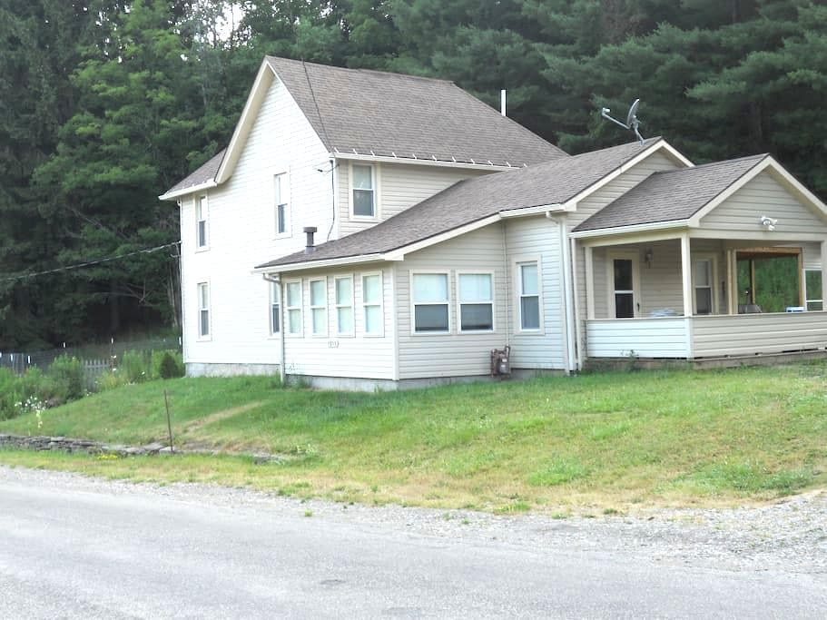 House in the country near Alfred NY - Andover