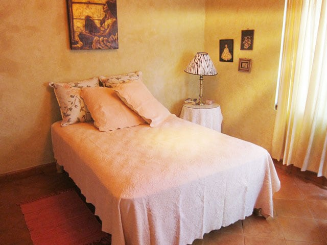 Pink Double Bed, second floor