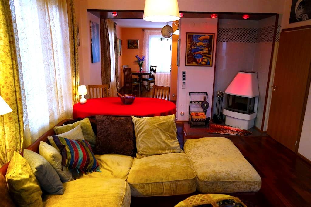 Половина трёхэтажного дома в Котке (Катарина) - Kotka - Obsługiwany apartament