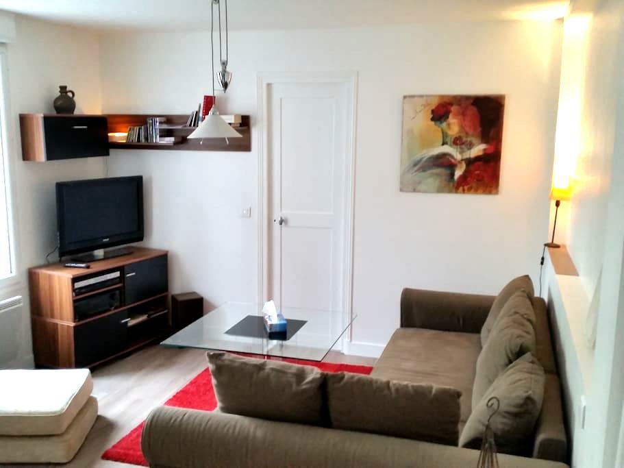 2 pièces 48 m²+ jardin privatif - Saint-Maur-des-Fossés - Appartement en résidence