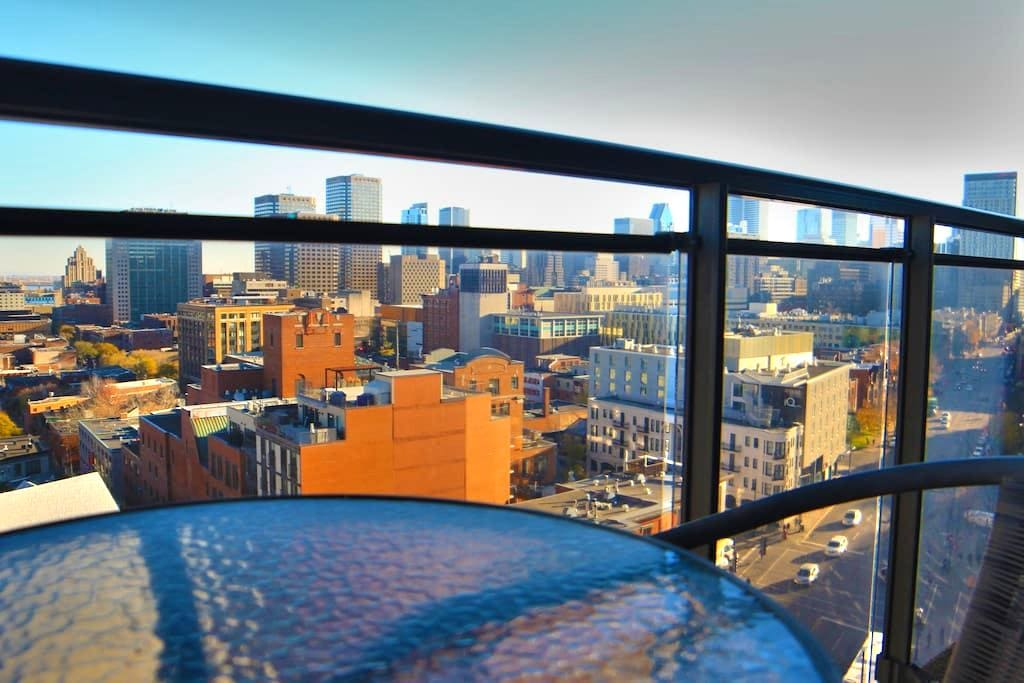 """Le Panoramic"" Unique Downtown Loft - Montréal - Loft"