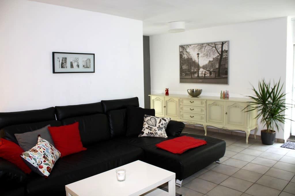 Ground floor flat, quiet area, terrace - Fürth - Leilighet