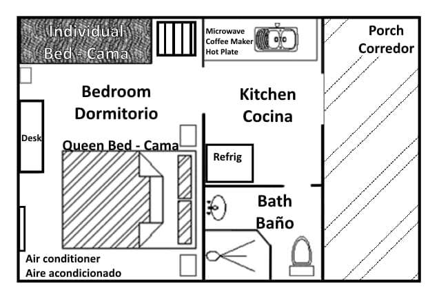 Casita floorplan