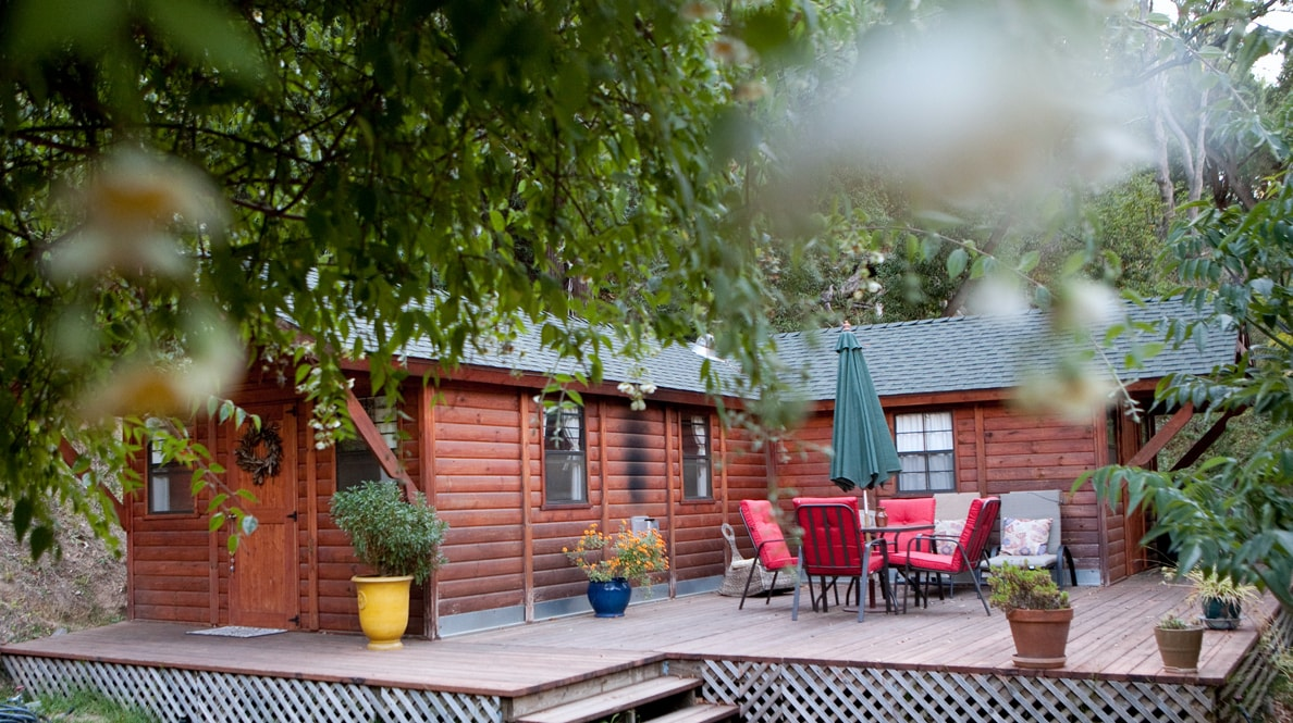 """You have arrived - """"Romantic Cabin Retreat"""" in Big Sur"""