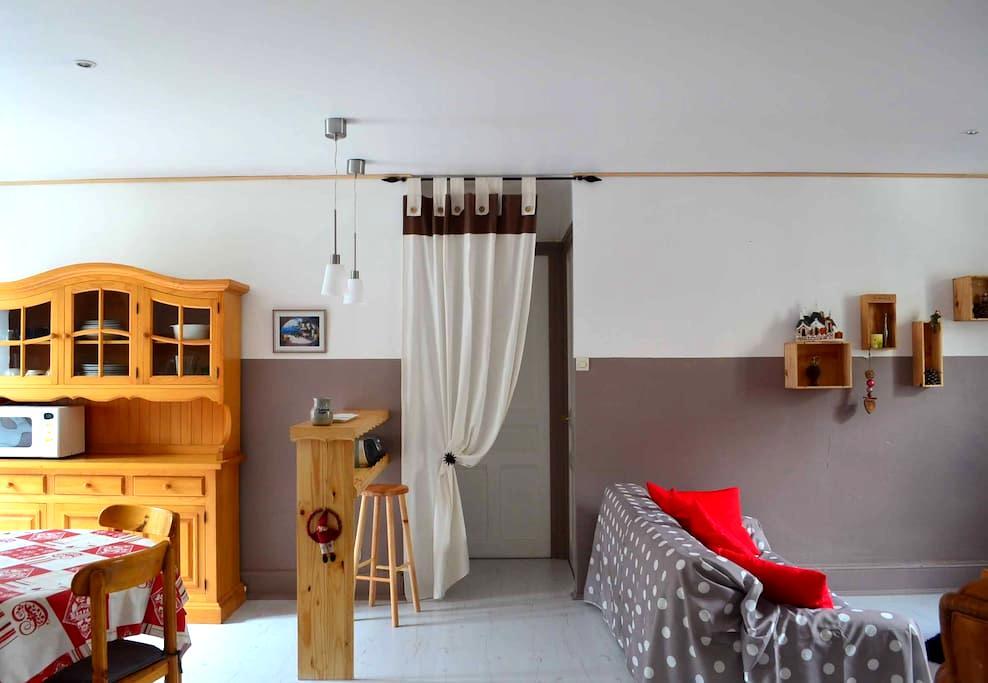 Bel appartement meublé 80m2 - Savoie - Modane - อพาร์ทเมนท์