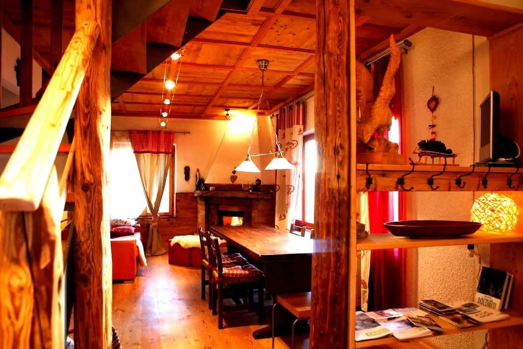 Chalet Baita Marimonti Dolomiti view - Lagolo - Chatka