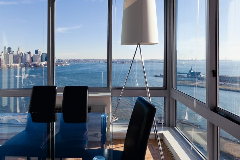 Sky City @ The River 2 BR  NYC View