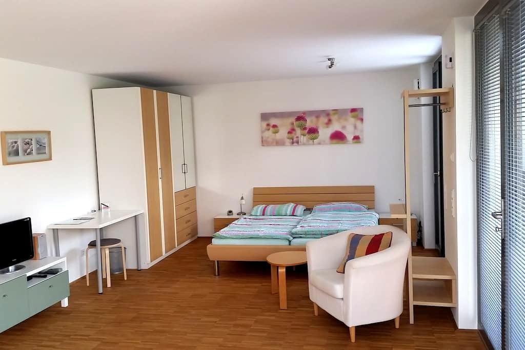 Modernes Appartement in Uninähe - Blaustein - Apartamento