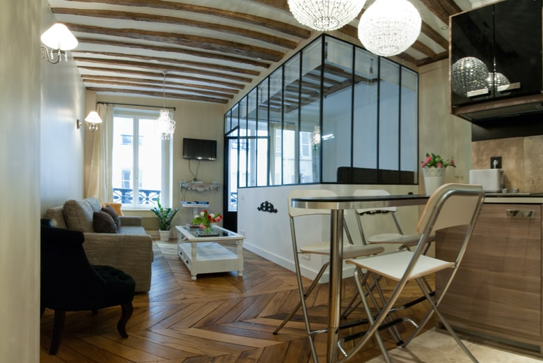 Recently renovated with its own Parisian feeling