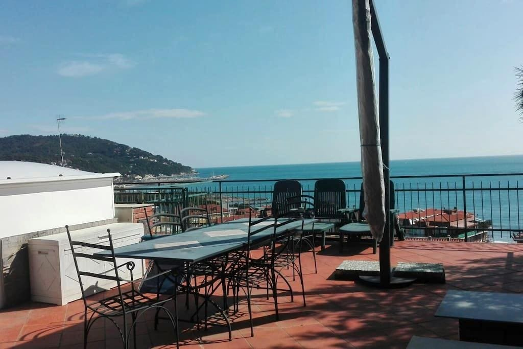 Sea View Apartment - Andora - Marina di Andora - Apartamento