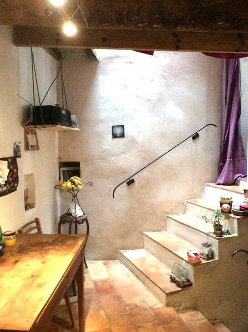 Jolie petite maison de village - Aigues-Vives - Huis