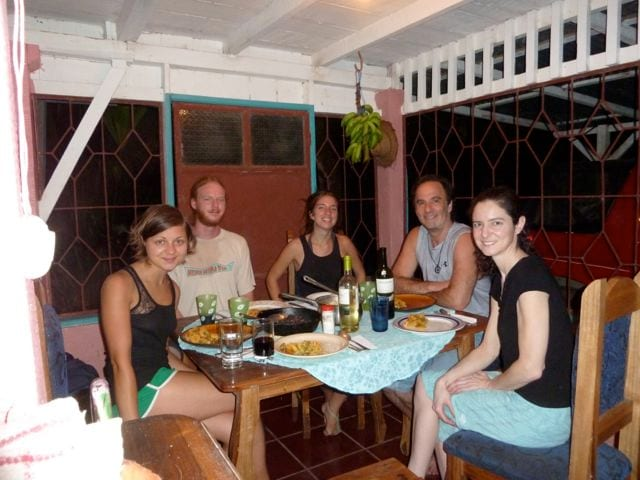 Dinner Guests from Around the World