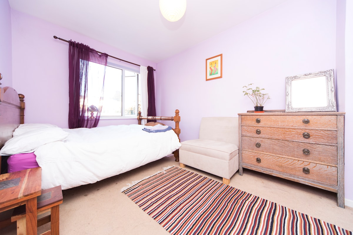 Sunny double room in Shoreditch