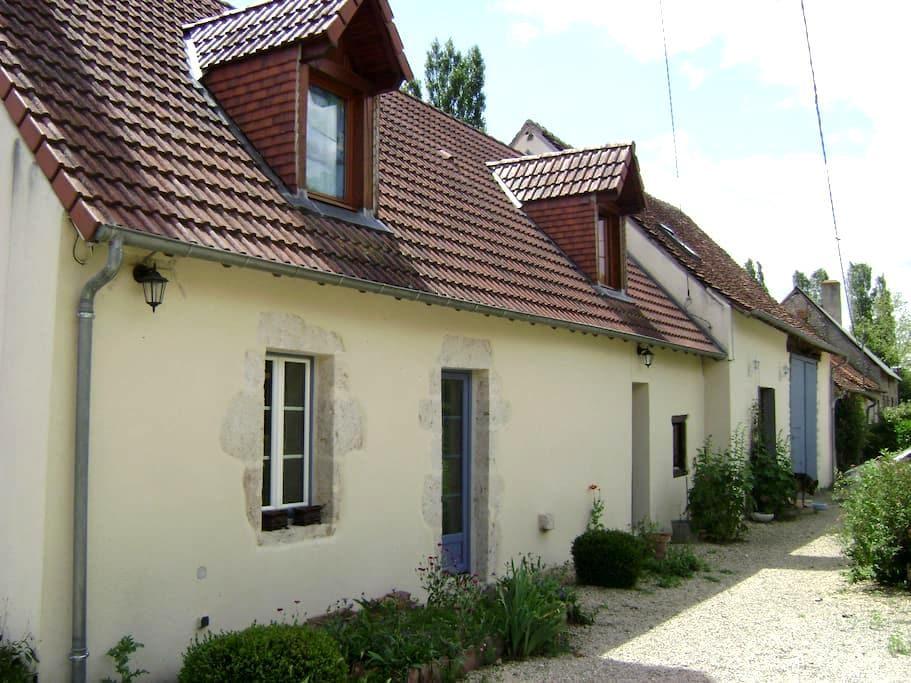 Loue chambre  - Cerbois - Rumah