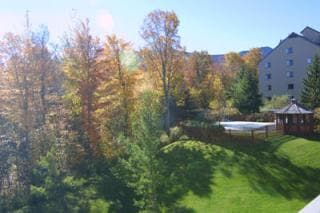 Views of Killington Mountain and golf course from the balcony
