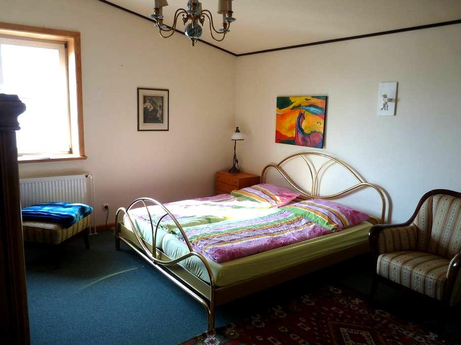 Zimmer mit Du/WC in Reitsportanlage - Höhbeck - Bed & Breakfast