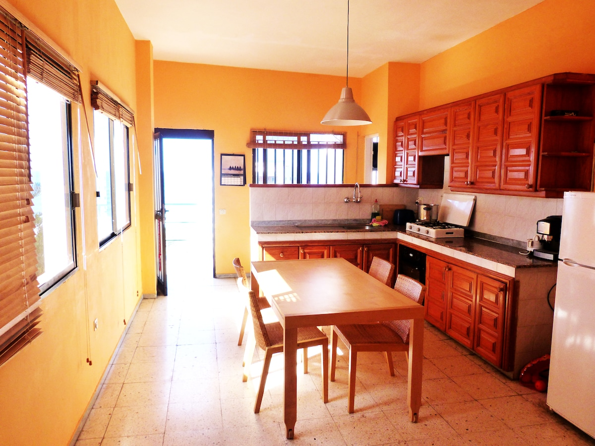 Spacious and full equiped kitchen