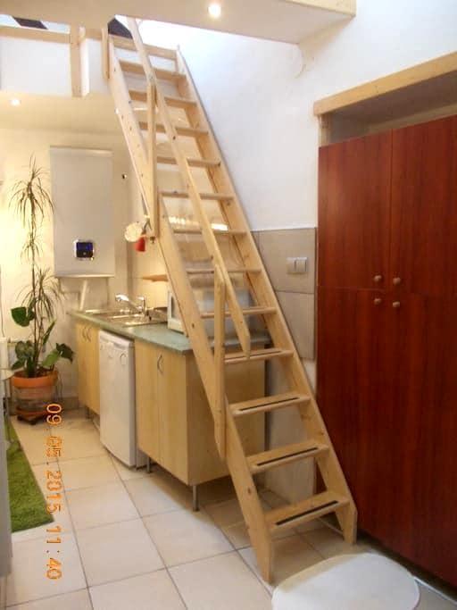 Útulný byteček v domku se zahrádkou blízko centra - Brno - Huis