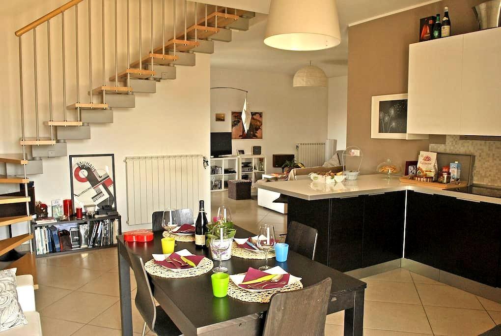Nice Duplex Apartment - Sambuceto - Apartamento