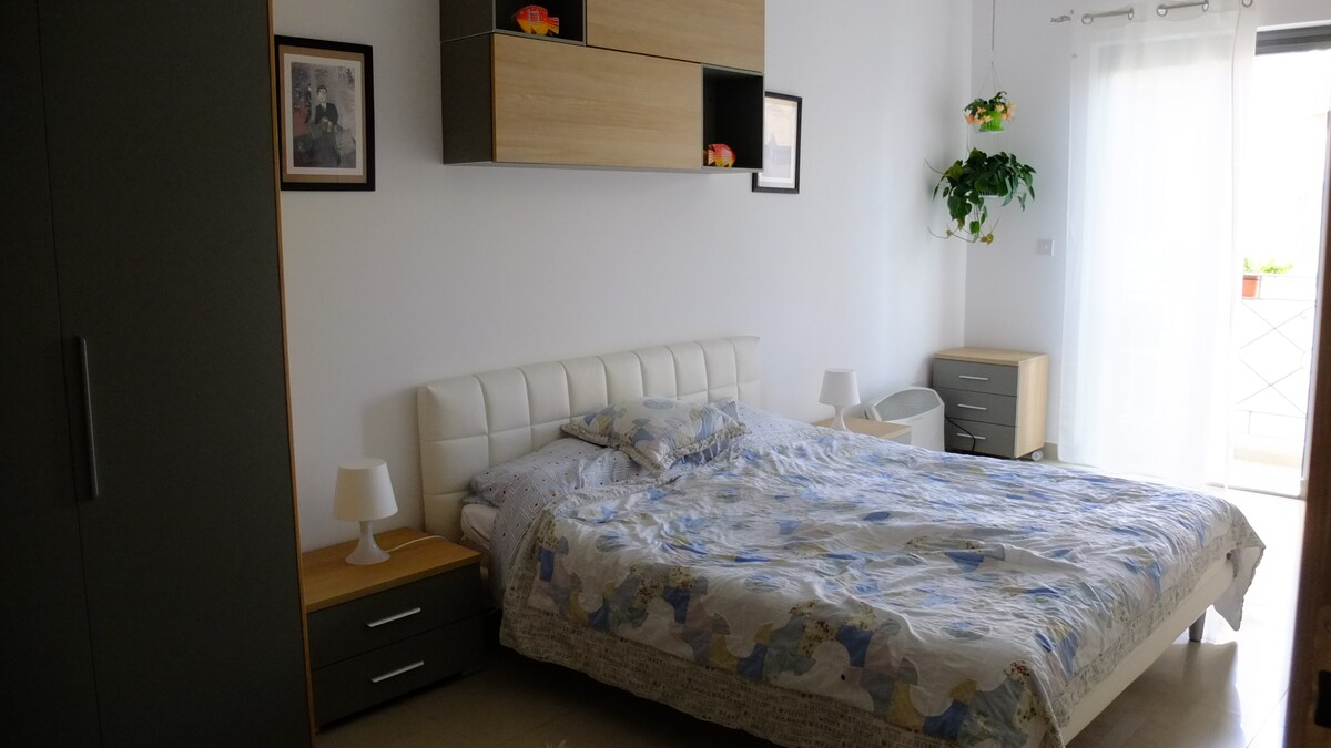 bright and sunny, big comfy double bedroom