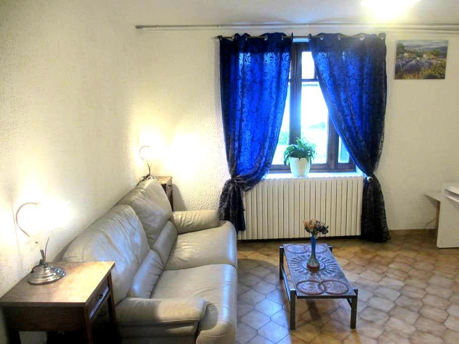a huge and quiet flat in the countryside - SAINT RAMBERT D ALBON - Leilighet