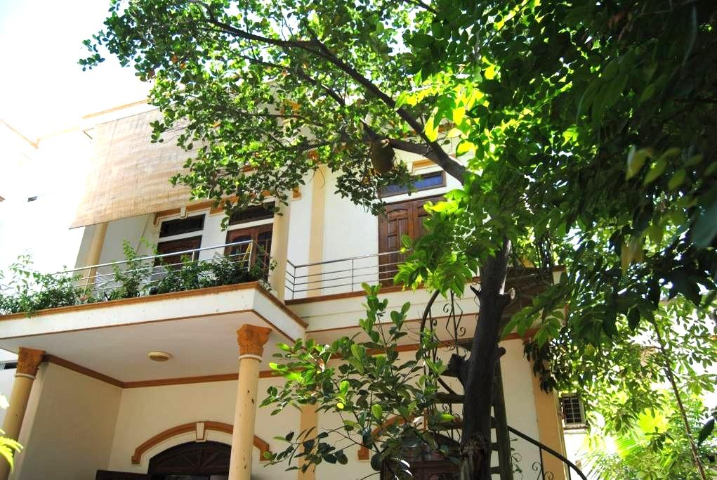 Moon House -M- house surround with tropical garden - tp. Nha Trang - Flat