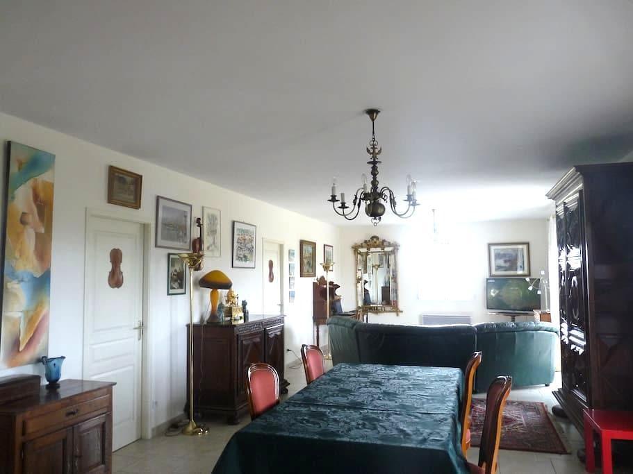 Maison contemporaine de plain-pied - Ordan-Larroque