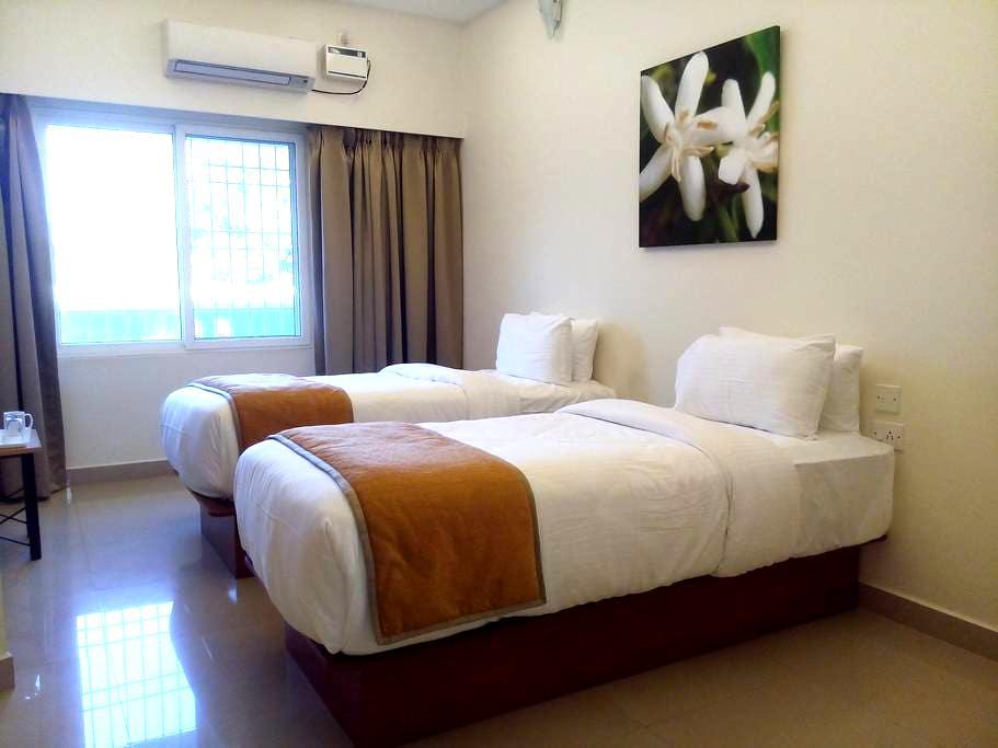 """Peace"" 207 La Grace Integral Retreat - Auroville - อพาร์ทเมนท์"
