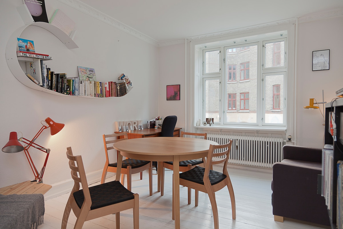 Cozy 2 room apt. in Nørrebro, CPH