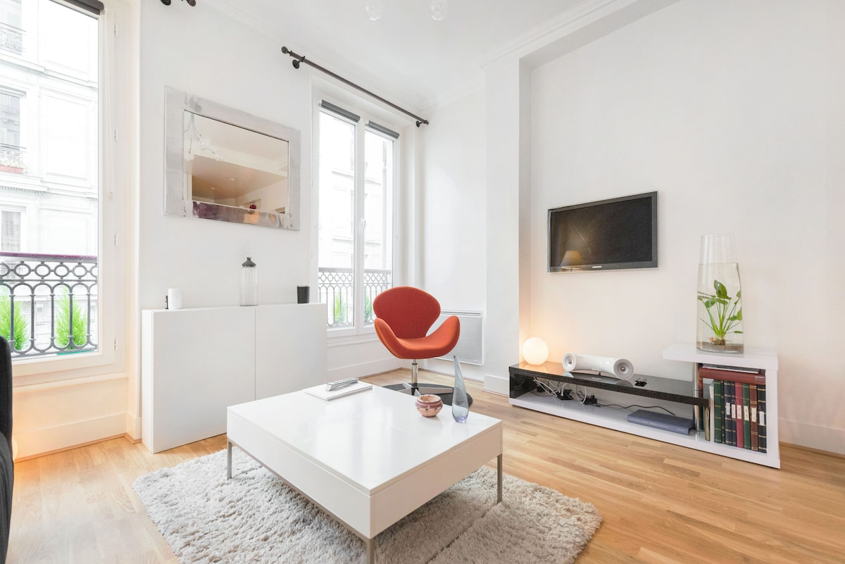 Cosy & charming apartment near Montmartre