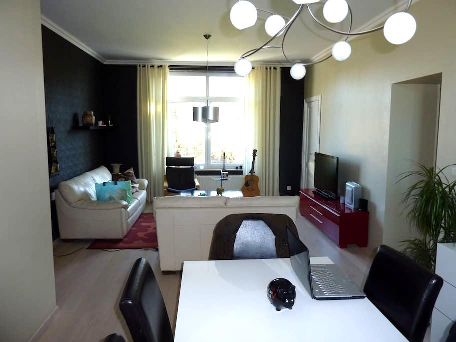 appartement 2 chambres de 80 m² - Grâce-Hollogne - Apartament