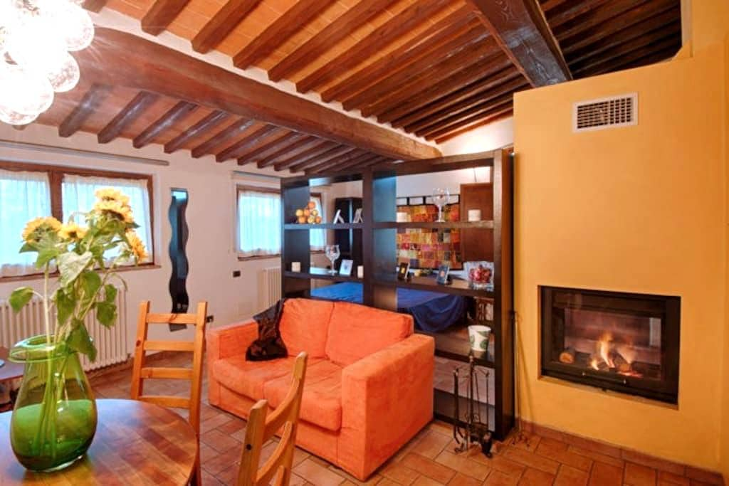 Romantic cottage in Tuscan style - Siena - Appartement