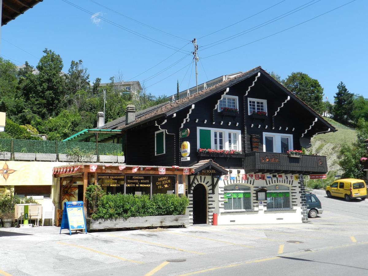 Café-Rest.du Soleil BnB Chambre 1