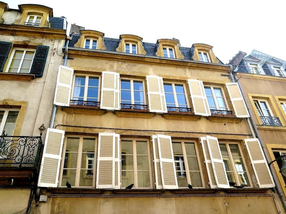 Duplex de charme, 72m2 Metz centre - Metz - Byt