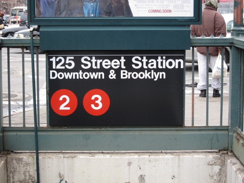 Our apartment is within 3 short blocks of the 2/3 Express Train