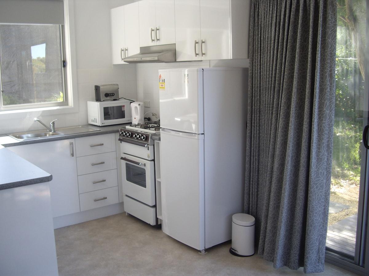 Kitchen facilities.