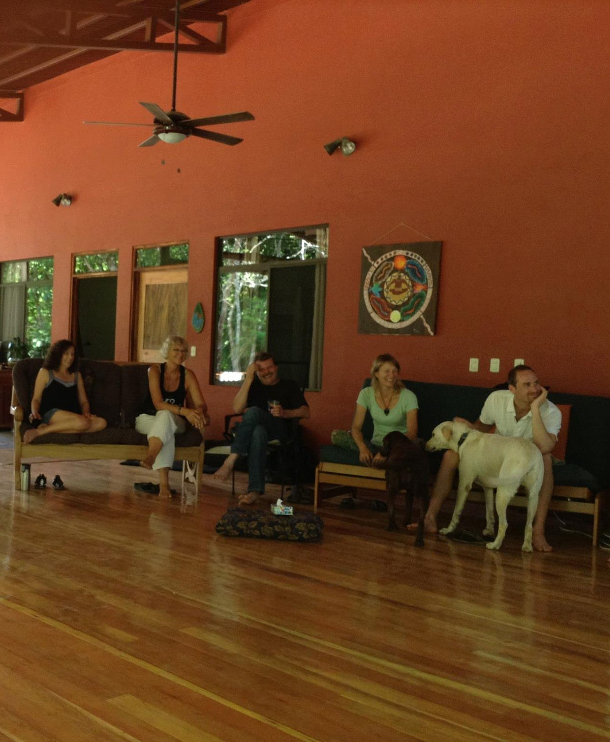 Living Forest - space for hanging out, yoga and other workshops, relaxing, fun...
