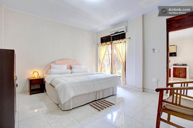 Master bed private bath Bali Home