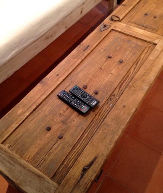 OLD COLONIAL DOOR COFFEE TABLE IS CUSTOM MADE