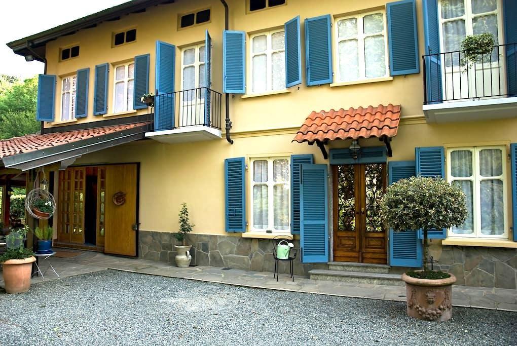 Le finestre sui canali near Turin - Cafasse - Hus