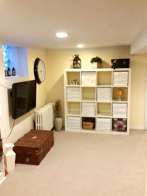 Entire lower level, private entrance and bathroom. - Toronto