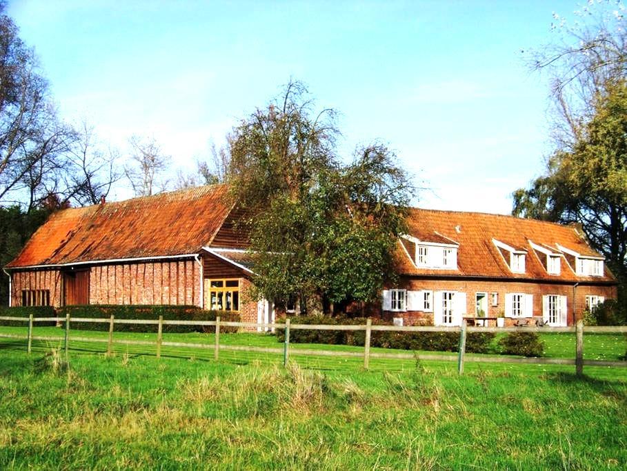 Gite la Métairie, ferme remarquable du 19° siècle - Cysoing - Casa