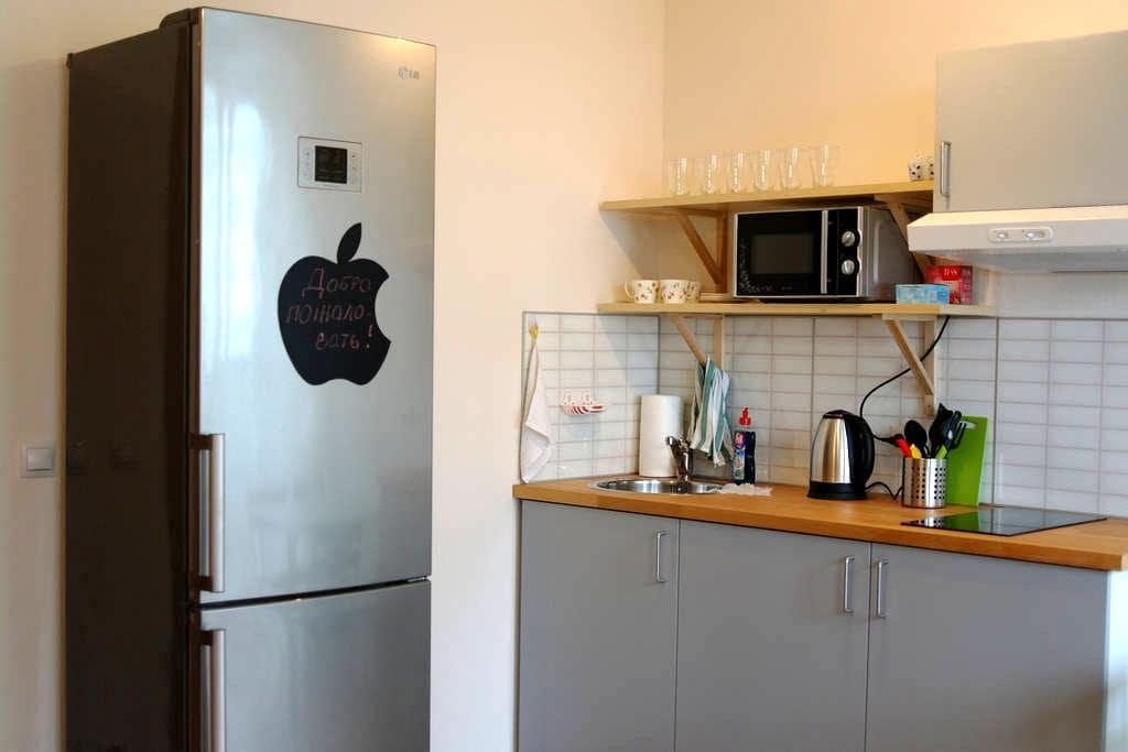 Уютная квартира-студия у метро Девяткино - Murino - Apartament