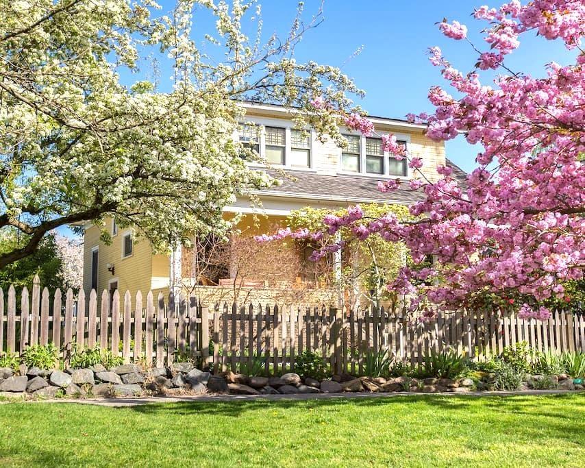 Beautiful retro-cool apartment on Capitol Hill! - Seattle - Casa