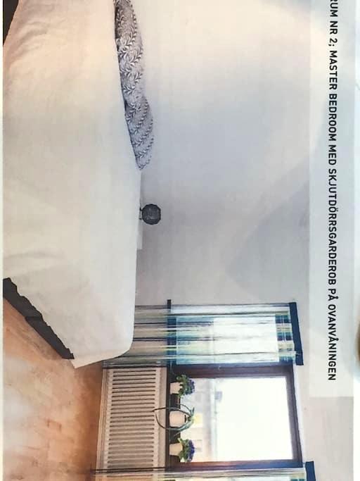 Charmfull room in townhouse - Malmö - Ev
