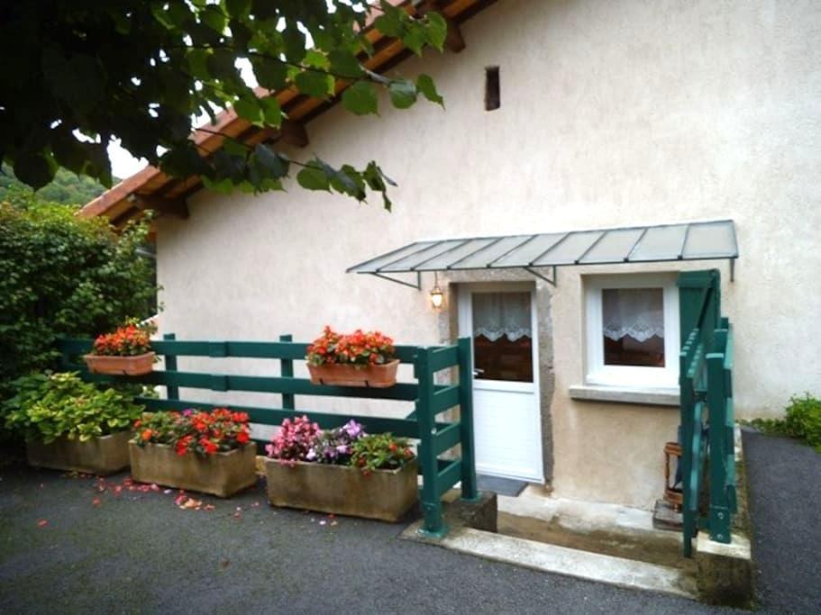 GITE MEUBLE A LA CAMPAGNE - Vaux-en-Bugey - Wohnung